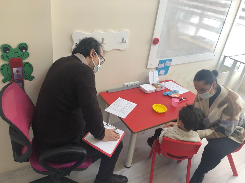 Prof. Dr. Binyamin Birkan Eskişehir Yapı Taşı Özel Eğitim Akademisini Ziyaret Etti